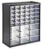 Stanley 1-93-981 Organiseur 39 Compartiments - Ossature En Polypropylène - Superposition Ou Fixation Murale possibles - 8 Étages - 33,6 X 16 X 44,5 cm