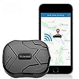 TKMARS Traceur GPS Voiture 4G Espion Aimant Antivol Multiples Alarmes Suivi en Temps Réel Tracker GPS Étanche pour Voiture, Moto, Camion, Camping Car TK905
