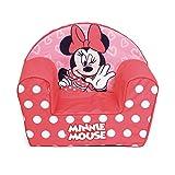 Arditex WD13025 Canapé déhoussable en mousse 42 x 52 x 32 cm de Disney Minnie