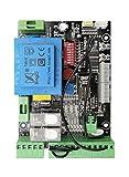 Carte électronique, commande pourporte de garage Coulissant Compatible avec BFT Alpha 230V et avec 90% des marques.