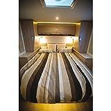 Wol - Lit Tout Fait Frisson pour Camping-Car et Caravane Dimension (cm) - Lit Central 140 x 200