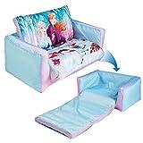 Disney- Mini Convertible-canapé-lit Gonflable pour Enfants, 286FZO, Bleu