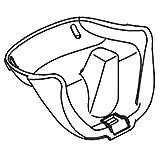 Pièce de rechange pour chaise haute Bloom Fresco–Rehausseur Blanc–# 15Comfort Tour White