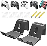 OIVO Support Manette Mural pour PS5 Xbox Series PS4 Nintendo Swtich, Universel Support Casque, Support Manette PS4 pour Manette de Jeu - 2 Pièces