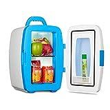genneric Mini-réfrigérateur électrique Cooler et Chaud AC/DC Portable thermoélectriques système Anywhere USB Mobile Power Option (Rose) (Color : White)