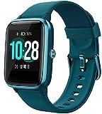Montre Connectée Femmes Homme, Smartwatch GPS Chronomètre Podomètre Etanche IP68, Montre Intelligente Cardiofrequencemètre ECG Alarme Sommeil, Montre Sport Fitness Tracker d'Activité pour Android iOS