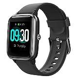 Willful Montre Connectée Homme Femme Smartwatch Compatible Samsung Huawei Xiaomi Android iOS Podometre Montre Sport Cardiofrequencemetre Etanche IP68 GPS Partagé 9 Modes Sport Notification de Message