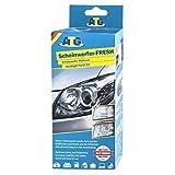 ATG Polish pour voiture - renovateur phare - 16-tlg. - Kit d'entretien polisseuse voiture polish pour voiture phare moto - avec adaptateur pour la perceuse