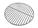 MUFENA Grille ronde en acier inoxydable, tapis de cuisson à la vapeur, grille de cuisson pour wok, bacon, super large, pains à la vapeur, grande casserole, résistant à l'eau, Ø 34 cm