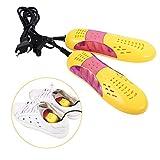 Zetiling Sèche-Chaussures, Protecteur de Chaussures de Forme de Voiture de Course de Voiture 220V, désodorisant d'odeur déshumidifie Le Dispositif de Chauffage de Chaussures