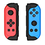 Elyco Manette pour Nintendo Switch, Wireless Controller Pro sans Fil Joycon Switch Contrôleur, Bluetooth Fonction Support Turbo / 6-Axis Gyro/Dual Vibration pour Nintendo Switch Lite