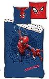 Spiderman - Parure de Lit Enfant Marvel - Housse de Couette