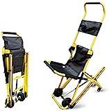 GLJY Chaise d'escalier Chaise d'évacuation d'escalier, Chaise d'ambulance Pliable Ascenseur d'évacuation de Pompier avec Sangles de retenue pour Patients, capacité de Poids 350 LB