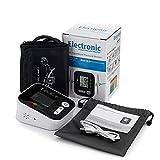 Moniteurs De Santé Domestique, Moniteur de pression artérielle électrique de bras électrique Taux de battement de coeur numérique compteur d'impulsions d'impulsions d'impulsion d'alarme vocale automat