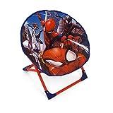 ARDITEX Siège Lune Pliable en Polyester avec Structure en métal sous Licence Spiderman, 50 x 50 x 50 cm