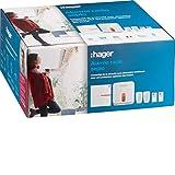 Pack Alarme Sepio + sirène extérieure - RLP305F - Hager