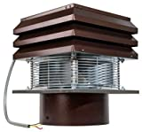 Gemi Elettronica Extracteur De Fumée pour Conduit Rond 30 cm 300 mm pour Cheminée Ventilateur De Radial Chapeau Aspirateur Extracteur Électrique De Fumées pour Poêle Thermique Barbecue