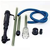 aspirateur aquarium, Nettoyeur électrique de gravier, aspirateur pour aquarium 3 en 1 aspirateur de gravier pour réservoir de stockage moyen et gran