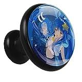 Anime Blue Mermaid Girl 01 Bouton De Meuble En Alliage Poignée Ronde 4 Pièces Commode Penderie Tiroir Poignée De Meuble Poignée De Cuisine Avec Vis 32x30x17mm
