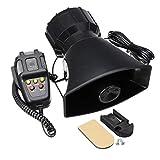 Wooya 300Db 12V 5 Sound Electric Air Horn General Tone Alarm Car Horn with Mic