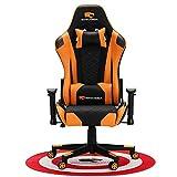 HIOD Chaise de Gamer Chaises de Course 200kg pour Gamer - Fauteuil Inclinable pour Chaise PC,Orange