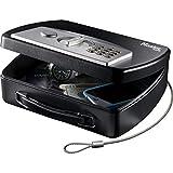 Master Lock P008EML Coffre-Fort Compact et Portable [Combinaison] [Câble de Fixation] - Idéal pour Sécuriser Petit Électronique, Passeports, Argent