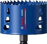 Bosch Professional 1x Scie trépan Expert Tough Material (pour Bois avec métal, Ø 102 mm, Accessoire Perceuse à percussion)
