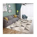 -Tapis de zone Tapis Salon Sofa Simple Table Basse Moderne Tapis Chambre Plein Lit Coussin Tête Tapis de maison (Color : H, Size : 180CM*280CM)