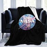chenche Nasa Galaxy Couverture ultra douce en micro polaire de qualité supérieure confortable pour lit, canapé, décoration pour la maison, le salon