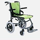 YQTXDS Fauteuil Roulant Ultra-léger Portable Pliant fauteuils roulants manuels automoteurs en Aluminium Chaise Ergonomique (Fauteuil Roulant)