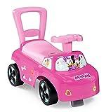 Smoby - Minnie - Porteur Auto - Fonction Trotteur - Pour Enfant Dès 10 Mois - Coffre à Jouets - 720522