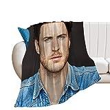 DSSDD Aaron Jakubenko Couverture en micro polaire ultra douce pour la maison, le canapé, le lit, le canapé - Chaude, légère - Pour toutes les saisons - Imprimé 3D - Pour enfants et adultes -