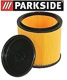 LIDL Parkside, Filtre plissé pour aspirateur sec/humide PNTS 1250, 1300, 1400, 1500A1, B1, B2,B3, C1, C3, D1, E2, tous les modèles