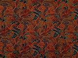 Generique Tissu pour ameublement en chenille lourd, adapté pour tapis de chaise, fauteuil, canapé, disponible au mètre en H 140 cm (version chinoise)