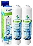 2x AquaHouse UIFL Filtre d'eau Réfrigérateur compatible LG 5231JA2010B BL9808 3890JC2990A 3650JD8050A Filtre de réfrigérateur externe
