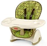 Fisher-Price Spacesaver Chaise haute, amis de la jungle pour bébé, nouveau-né, enfant, enfant, nourrisson
