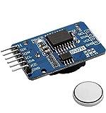 AZDelivery DS3231 Real Time Clock RTC I2C, Horloge en Temps Réel avec Batterie RTC DS3231 I2C, Module d'Horloge Haute Précision compatible avec Arduino et Raspberry Pi incluant un E-Book!