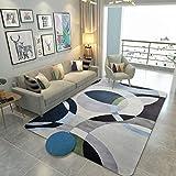 GXQ Printemps et Été Style Nordique Motif Géométrique Tapis Salon Chambre Tête de Lit Piano Tapis (Color : B, Size : 180x280cm)