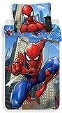 Enjoykids Parure Housse de Couette Spiderman Marvel Coton