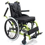 YIQIFEI Fauteuil Roulant pédiatrique Pliable pour Enfants, fauteuils roulants légers en Aluminium pour préposé aux Enfants, Largeur d'assise, Dossier, AR (Chaise)