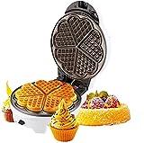 Moule à 2 tranches de grade de grade alimentaire en aluminium à double face chauffant uniformément pour le gaz ménager pour le petit-déjeuner, le déjeuner ou les collations kshu