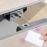 Allwin Inc Casier de rangement électronique pour cartes de rangement - Pour tiroirs en bois, tiroirs, armoire à chaussures avec entrée RFID/étiquette