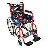 Fauteuil roulant pliable pour enfants | Accoudoirs et repose-pieds fixes | Largeur d'assise 35 cm | Teatro | Mobiclinic