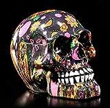Petit Coloré Tête de Mort Crâne Crâne Crâne Déco
