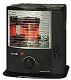 Zibro RS 2222+ mèche Chauffage/heizofen 2,20kW, 32mètres carrés, noir