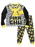 Pokémon - Ensemble De Pyjamas - Pikachu - Garçon - Multicolore - 6-7 Ans