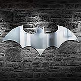 Led Applique Murale Personnalité USB Télécommande Batman Miroir Lumière Coloré Couleur Armoire Couloir Salon Chambre Décor Paperllong®