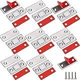 Loquet Magnetique Jiayi 8 Pièces Très Mince Aimant Pour Porte de Placard à Coller Loqueteau Aimant Fermeture Adhesif Meuble Aimant Puissant pour Porte Coulissante Tiroirs Fenetre Aimanté Armoire