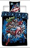Comics Marvel - Avengers - Parure de lit 140x200cm - '100% Microfibre'