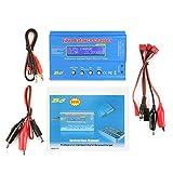 Chargeur iMAX B6 80W, Chargeur Lipo, Chargeur de Balance Déchargeur pour Batterie LiPo/Li-ION/Life(1-6S), NiMH/NiCd(1-15S), LCD Chargeur Déchargeur parallèle(sans EU plug)